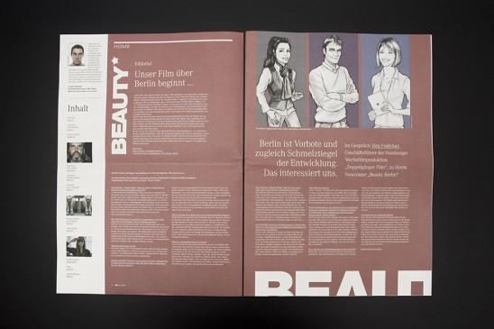 Magazin Broschüre Luebeck Flyer