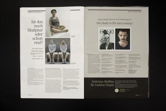Magazine Broschüren Lübeck Folder Agentur