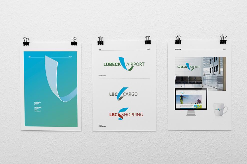 Logo-Entwürfe für den Lübeck Airport | 4 von 6