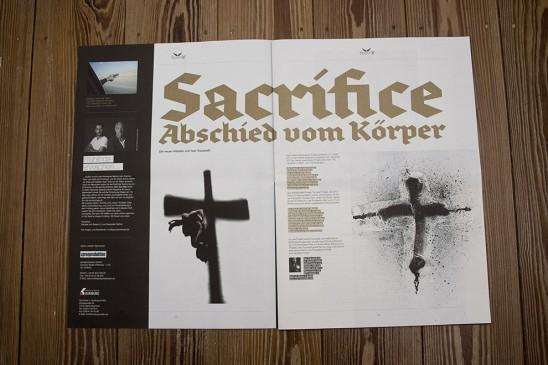 Editorial Lübeck Magazin design