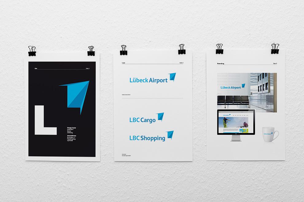 Logo-Entwürfe für den Lübeck Airport | 2 von 6