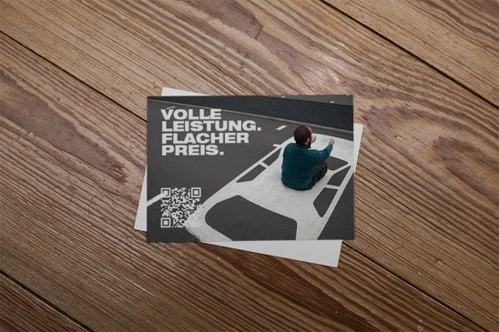 Postkarte Lübeck Kampagne Flyer