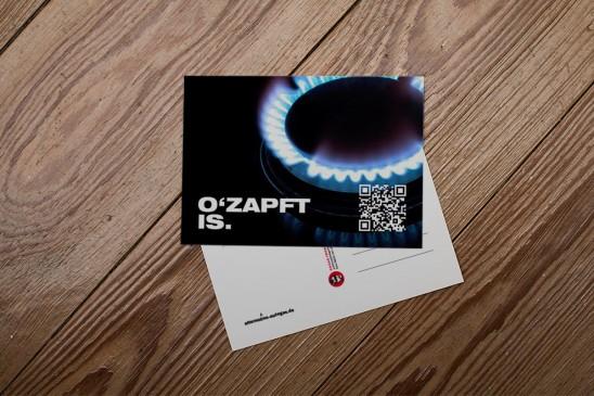Flyer Postkarte Lübeck Kampagne Anzeige