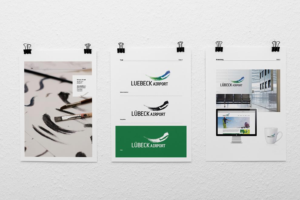Logo-Entwürfe für den Lübeck Airport | 6 von 6